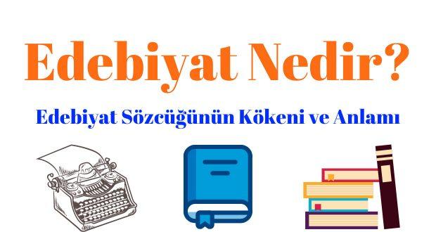 Edebiyat Nedir, edebiyat ne demek, edebiyat hakkında bilgi, edebiyat nedir kısaca bilgi, 9.sınıf edebiyat nedir