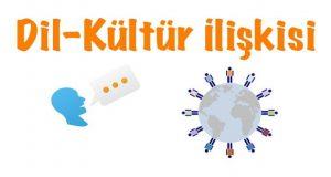 dil kültür, Dil kültür ilişkisi, Dil-kültür, Dilin kültür ilişkisi