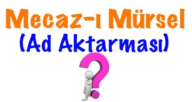 Mecaz I Mursel Ad Aktarmasi
